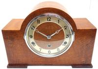 Good Arched Top Art Deco Mantel Clock – Musical Westminster Chiming 8-day Mantle Clock (2 of 11)