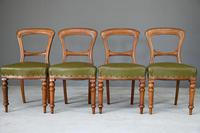 4 Victorian Mahogany Dining Chairs (5 of 12)