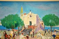 Vintage Italian Oil Painting by Mario Cortiello (6 of 6)