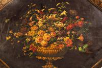 Late 18th Century Painted Octagonal Papier-Mâché Tray (2 of 4)