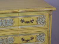 Pretty Hand Painted French Chest of Drawers (8 of 8)