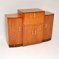 Art Deco Burr Walnut Cocktail Cabinet / Sideboard by Epstein (2 of 12)