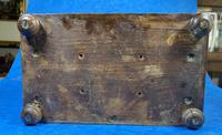 Victorian Oak Miniature Display Cabinet (11 of 11)