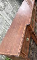 Wonderful Edwardian Inlaid Mahogany Four Door Breakfront Bookcase by Maple & co (8 of 14)