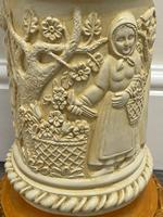 Dutch Golden Age Style Gilt Harvest Relief Plinth Display Torcheres (23 of 87)