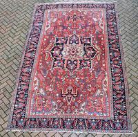 Antique Heriz Carpet 366x228cm (3 of 10)