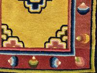 Antique Chinese Ningxia Rug (3 of 10)