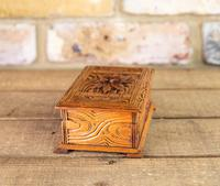 Carved Trinket Box 1930's (2 of 6)