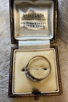 9ct. And Platinum 3 Stone Diamond Ring (3 of 4)