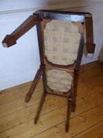 Scottish Rosewood Upholstered Stool (6 of 8)