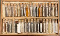 "Victorian ""cabinet Of materia medica"" – complete and totally original specimens. (5 of 6)"