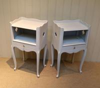 Pair of Painted Bedside Cabinets (2 of 4)