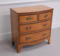 18th Century Satinwood Bow Fronted Chest of Drawers (7 of 12)