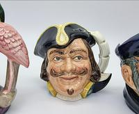 Four Small Royal Doulton Toby Jugs (4 of 16)