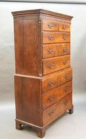 Rare George III Tallboy Chest of Drawers (9 of 15)