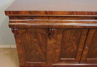 Antique Victorian Mahogany Chiffonier Sideboard Server (13 of 14)