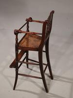 Attractive Late 19th Century Child's High Chair (4 of 5)