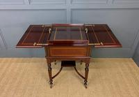 """Inlaid Mahogany """"Surprise"""" Drinks Table (8 of 15)"""