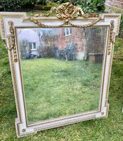Set of Three Painted & Gilt Mirrors (7 of 9)