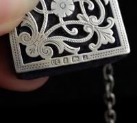 Victorian Sterling Silver Chatelaine (7 of 17)