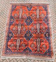 Old Afshar Carpet 305x209cm (7 of 9)