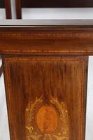 Pair of Edwardian Mahogany & Inlaid Single Beds (12 of 13)