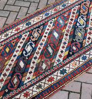 Antique Caucasian Genge Long Rug  279x89cm (2 of 6)