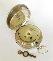 Antique Silver Pocket Watch for Gittus of London (5 of 6)