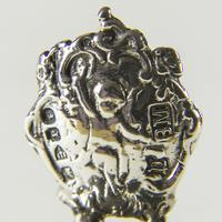 Victorian Miniature Silver Chair with Cherubs (5 of 8)