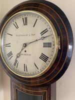 Rosewood Late Victorian Fusee Timepiece (4 of 11)