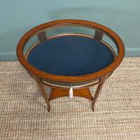 Stunning Victorian Satinwood Bijouterie Jewellery Table (6 of 6)