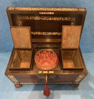 Regency Rosewood Twin Canister Tea Caddy (10 of 23)