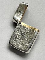 Lovely Victorian Silver Vesta (4 of 5)