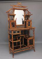Impressive 19th Century Bamboo Cabinet (18 of 25)