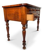 Mahogany Kneehole Writing Table (4 of 5)