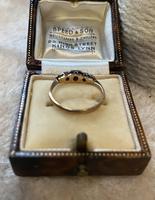 9ct. And Platinum 3 Stone Diamond Ring (2 of 4)