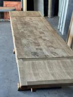 Superb Rustic Large Bleached Oak Farmhouse Table with Extensions (28 of 36)