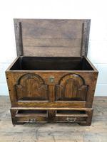 18th Century Style Welsh Oak Coffer (5 of 13)