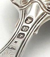 Regency Silver Caddy Spoon with Shell Bowl - London  1816 (3 of 4)