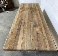 Rare Large & Deep Oak Farmhouse Dining Table (10 of 31)