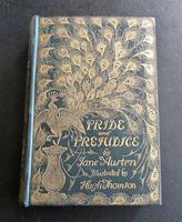 1894  1st Peacock Edition.    Pride & Prejudice by Jane Austen, Illustrated by Hugh Thomson.