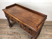 Antique Mahogany Desk with Barley Twist Supports (5 of 13)