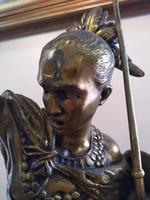 Bronze Warrior Torchere (9 of 12)