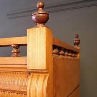 Large Edwardian Pine Chinoiserie Style Dresser (15 of 16)