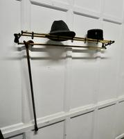French Art Deco Hat & Coat Rack, Pullman Railway Train Style (2 of 7)