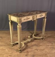 Italian Painted & Giltwood Console Table (7 of 11)