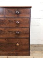 Victorian Mahogany Chest of Drawers (5 of 16)