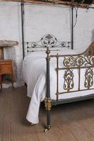 Beautiful Victorian King Size Half Tester Bed by Winfield (8 of 12)