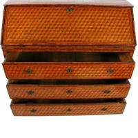 18th Century Italian Parquetry Bureau (6 of 8)