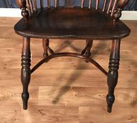 Low Back Ash & Elm Windsor Chair (5 of 8)